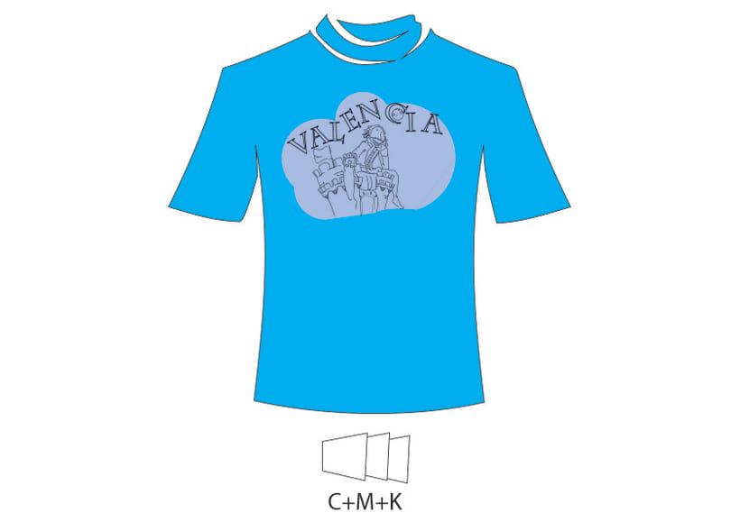 Camiseta Valencia Infantil 6