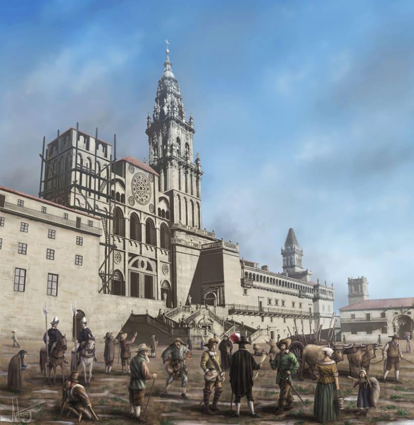 Santiago de Compostela S. XVII 1