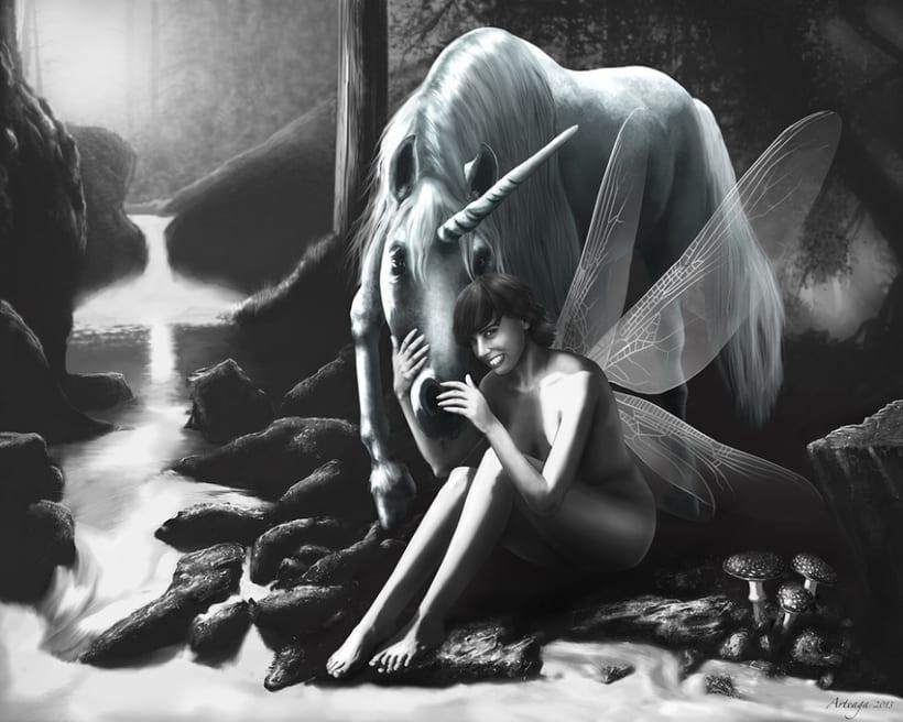 El Hada y el Unicornio 1