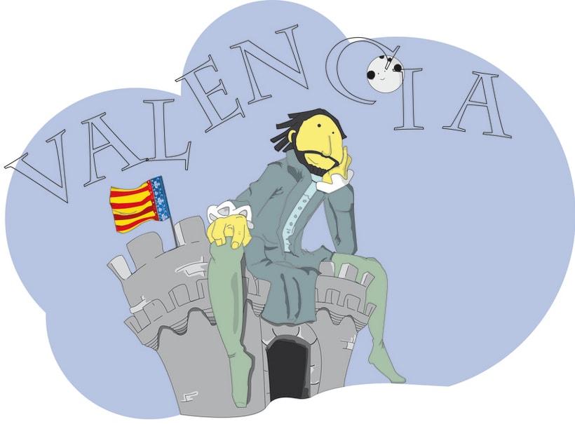 Camiseta Valencia Infantil 3