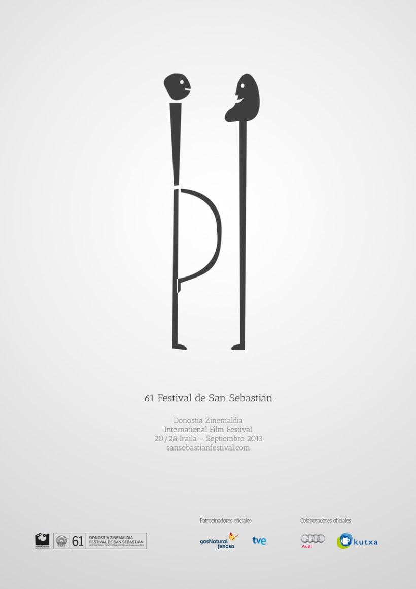Cartel de Festival Internacional de Cine de San Sebastián 2013 2
