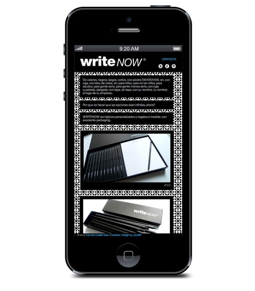 WRITENOW new website 1