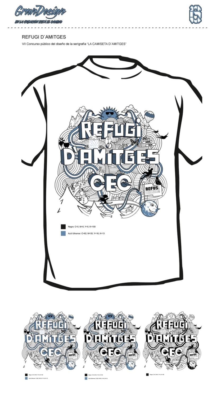 REFUGI D´AMITGES (Diseño Gráfico) 1