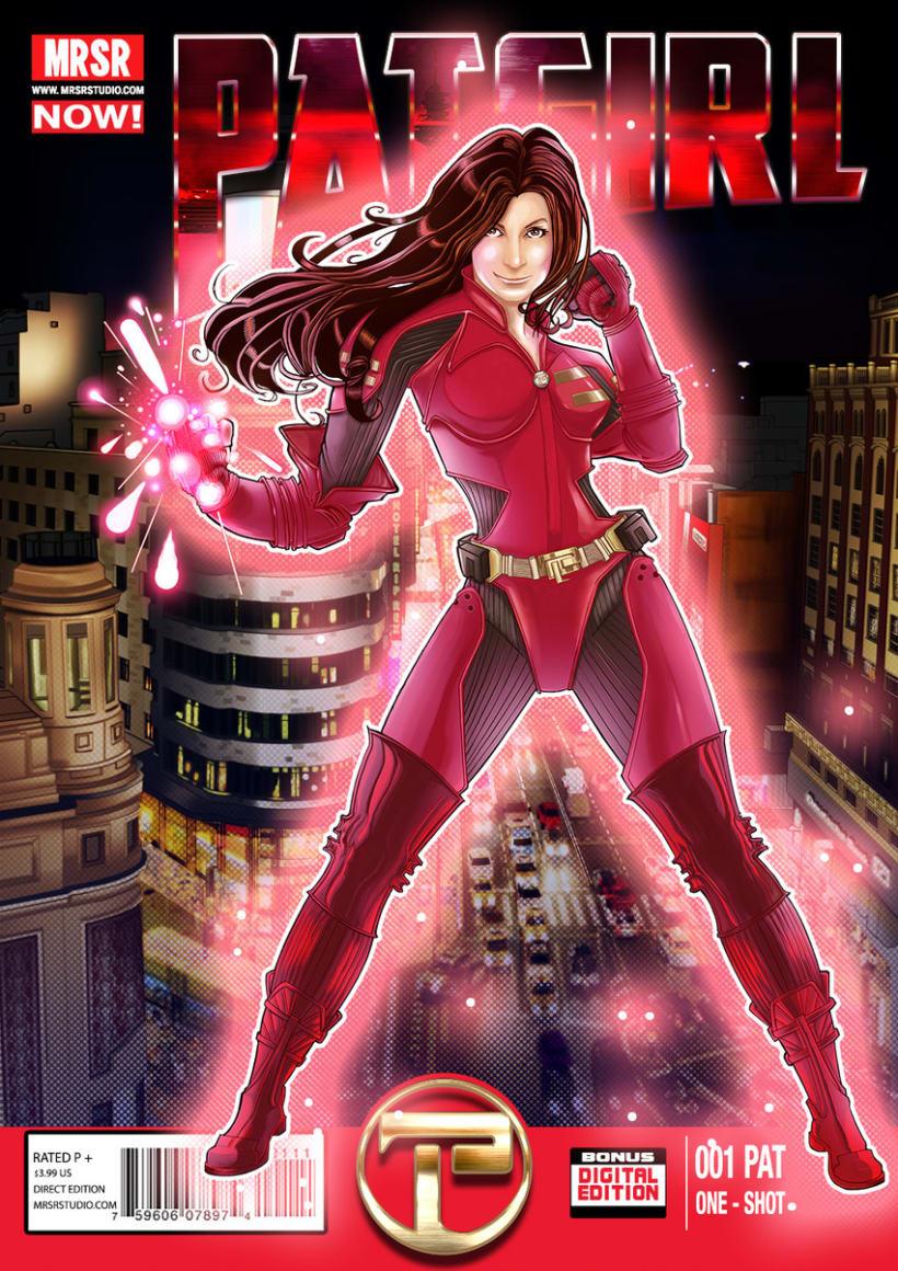 Encargo Superhéroe - PAT Girl 4