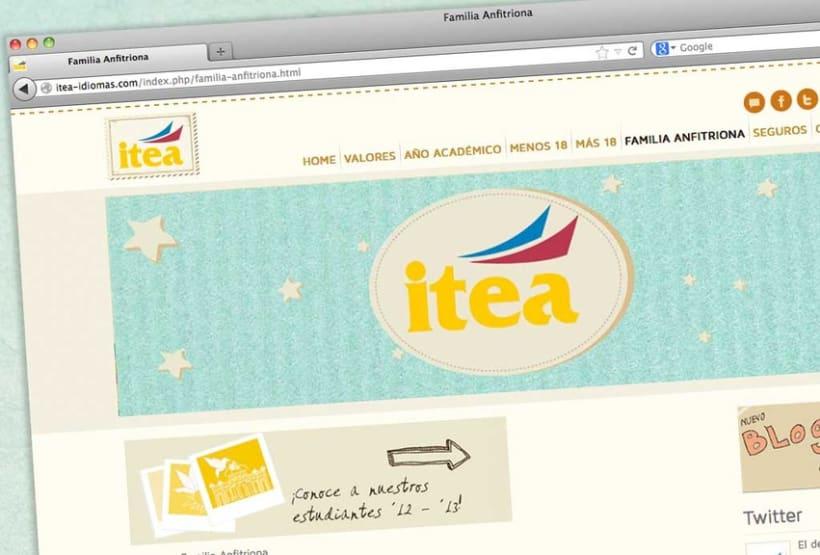 Itea idiomas website 9