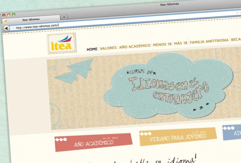 Itea idiomas website 3