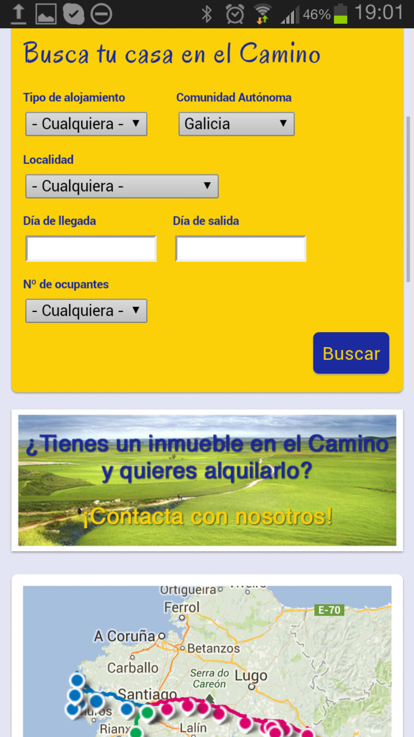 WEBSITE | A Santiago voy 3