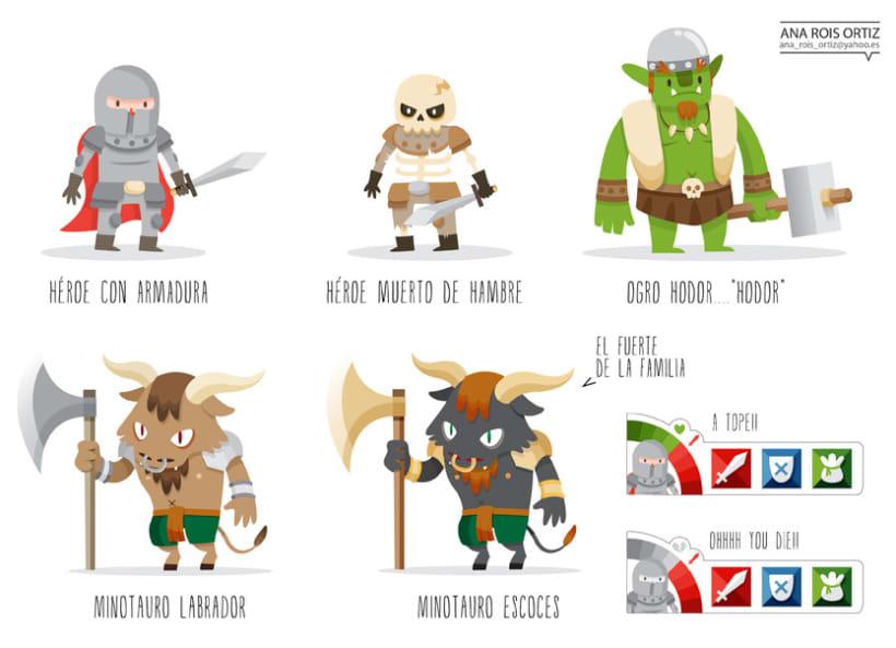 Personajes para videojuego 8
