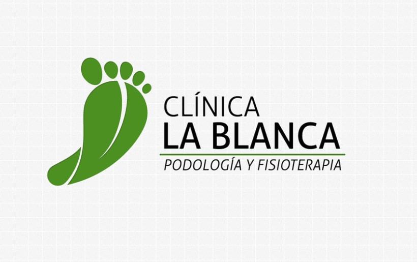 Logotipo de Clínica La Blanca 1