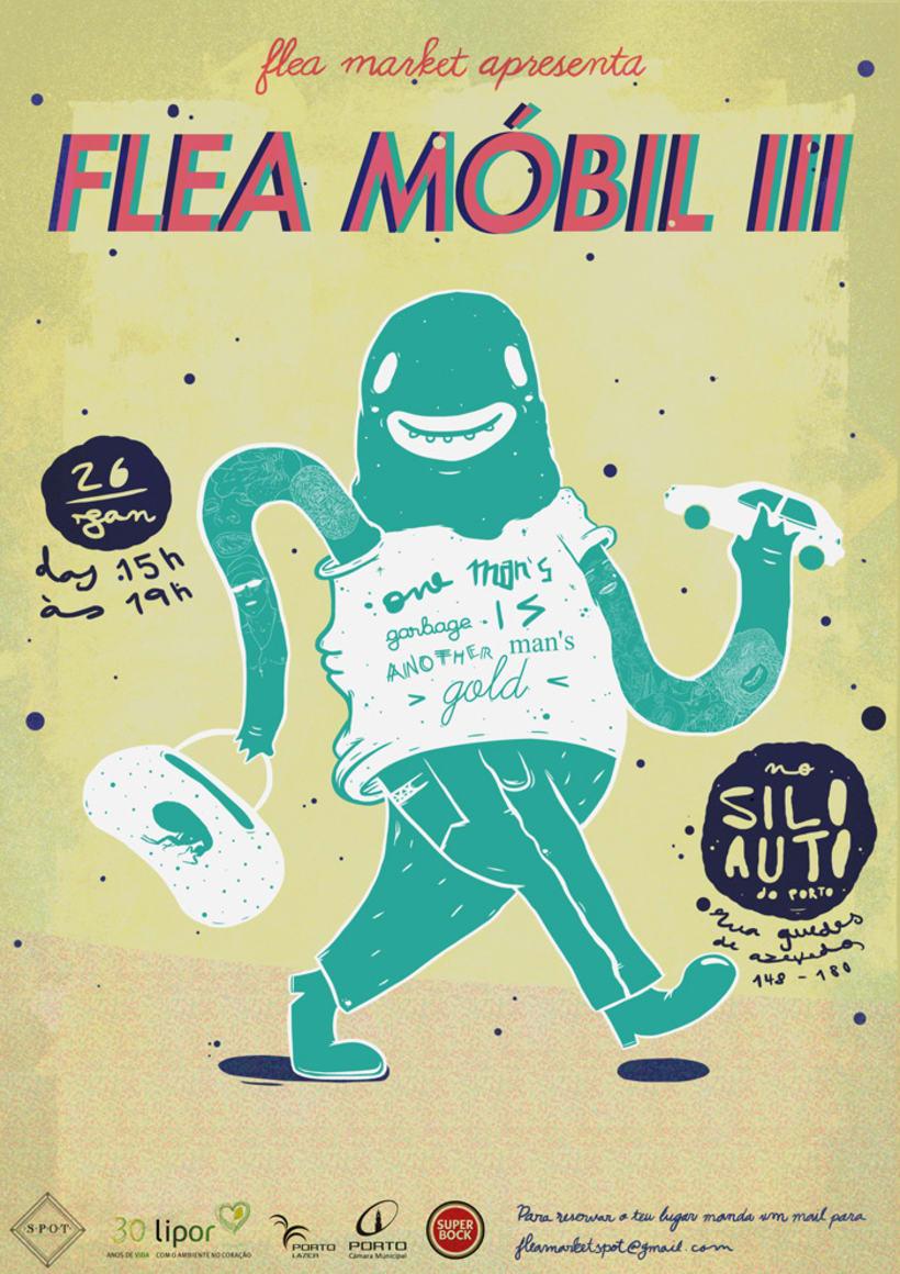 Flea Market Mobil 1