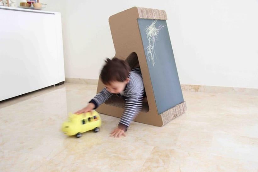 K24 mobiliario infantil de cart n domestika for Mobiliario infantil montevideo