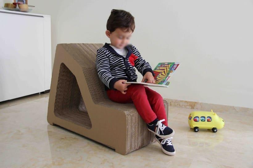 K24 mobiliario infantil de cart n domestika - Mobiliario infantil europolis ...