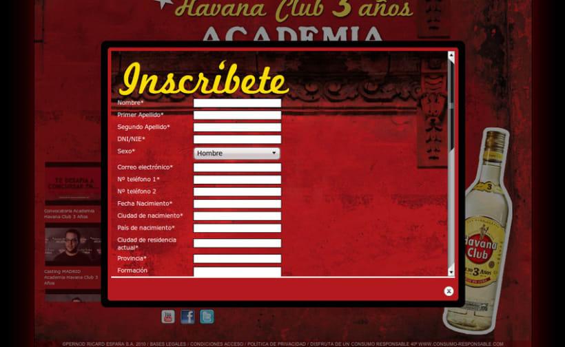 Academia Havana Club 3 Años 6