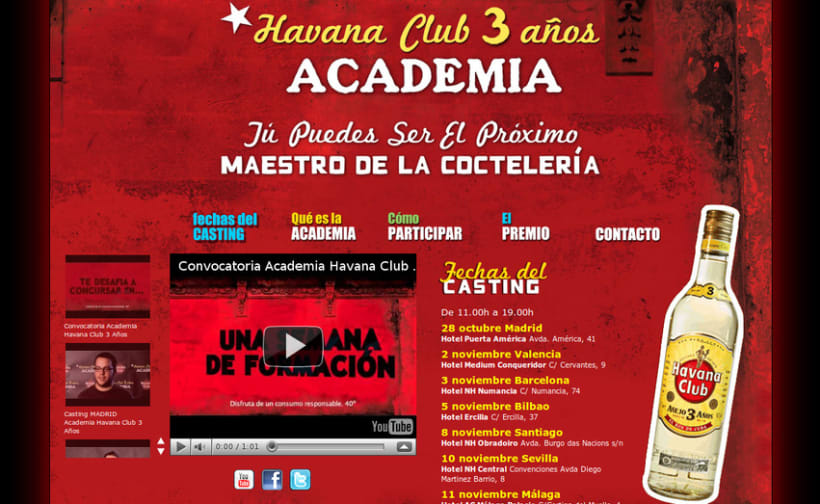 Academia Havana Club 3 Años 3