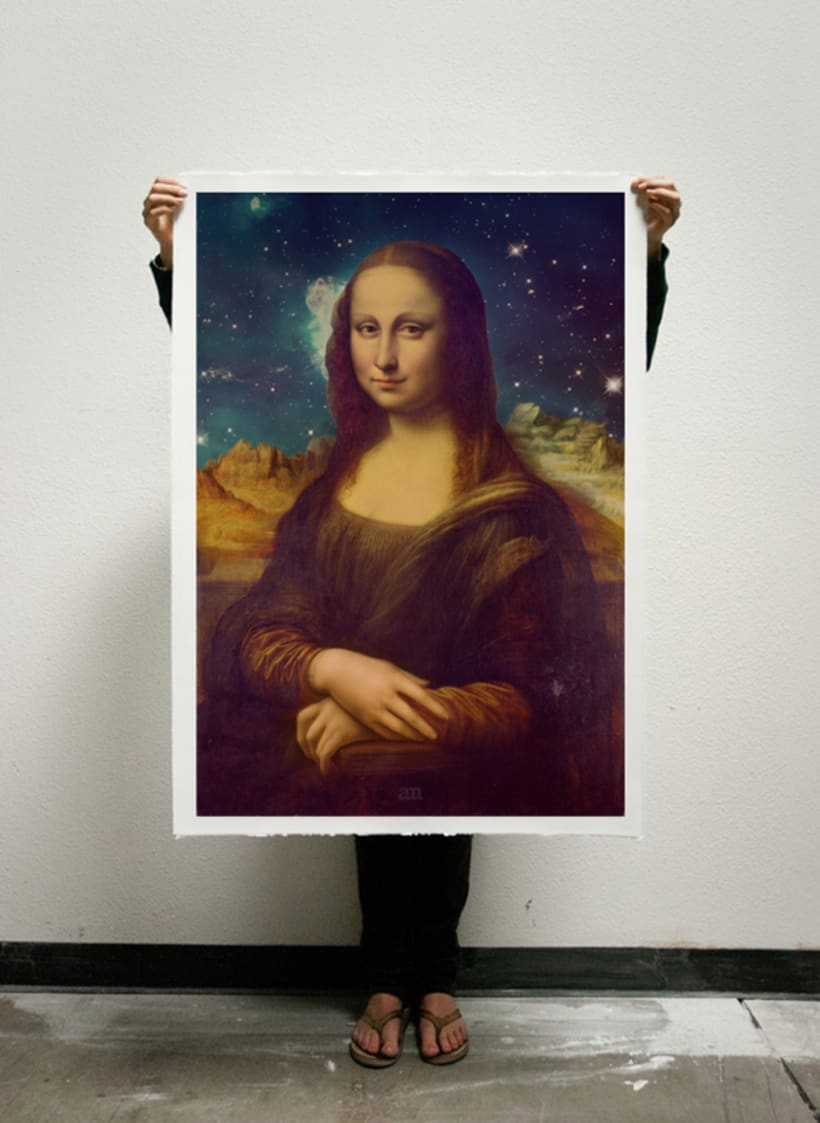 Mona Lisa's Galaxy 6