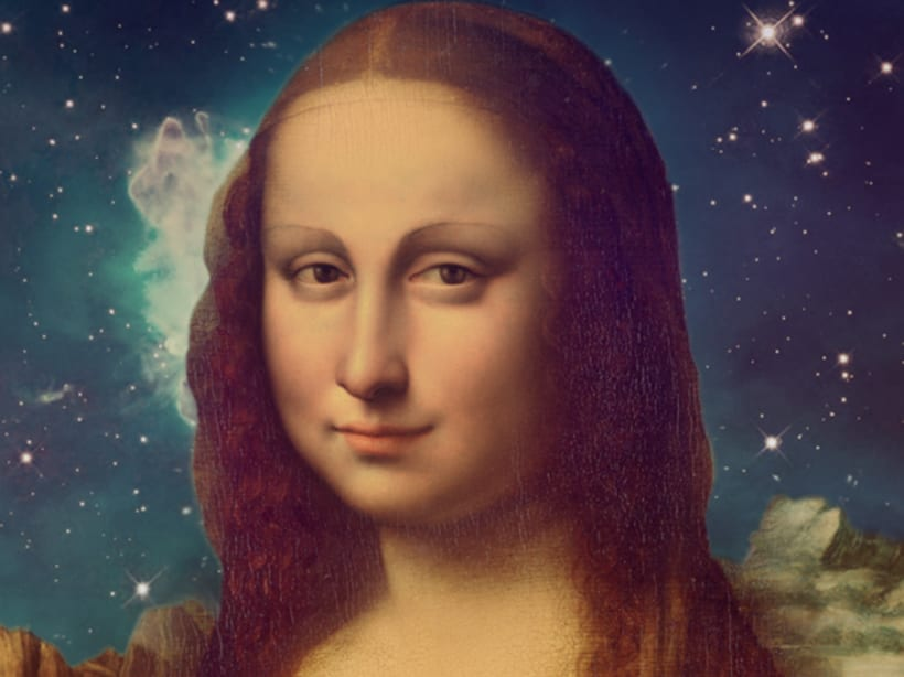 Mona Lisa's Galaxy 3