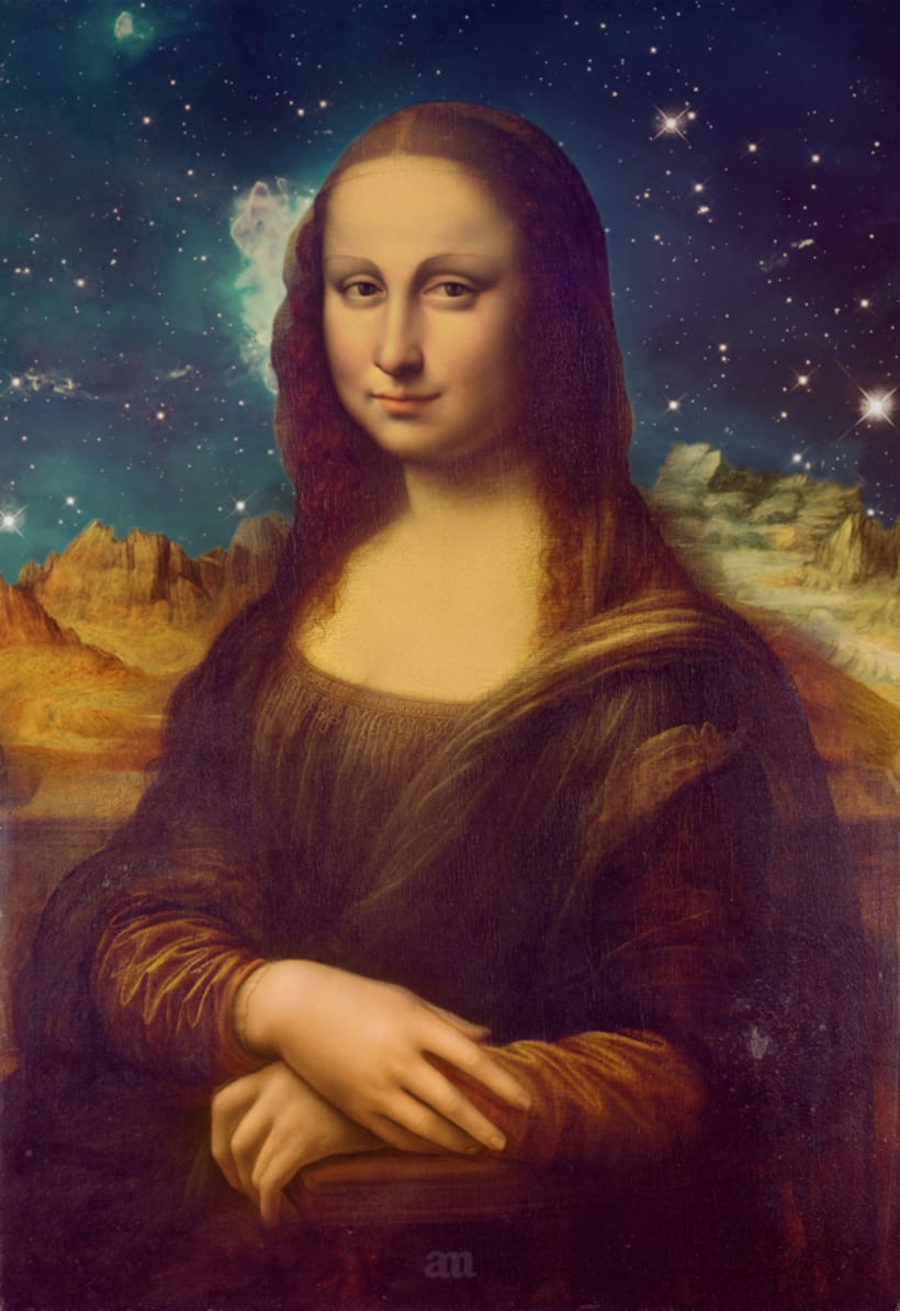 Mona Lisa's Galaxy 1