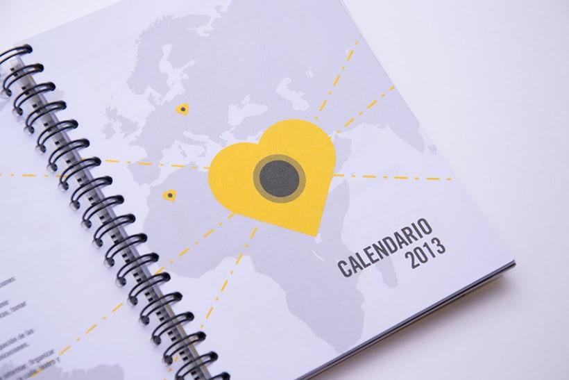 Calendario y Agenda para ACSUR 8