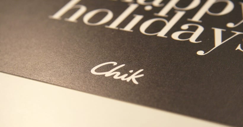 Chik Christmas Card 3