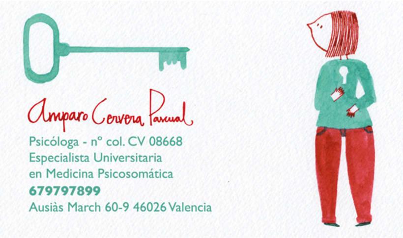 Amparo Cervera (business card) 1