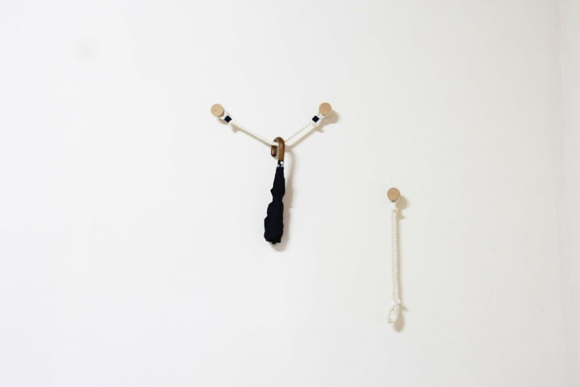 Hanger Rope - Perchero de pared 4
