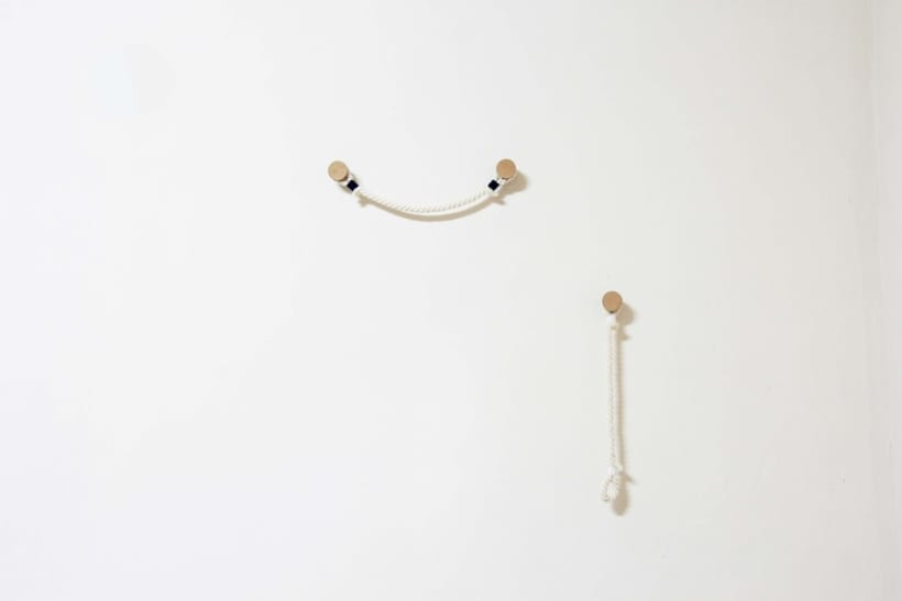 Hanger Rope - Perchero de pared 3