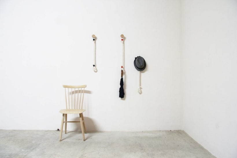 Hanger Rope - Perchero de pared 8