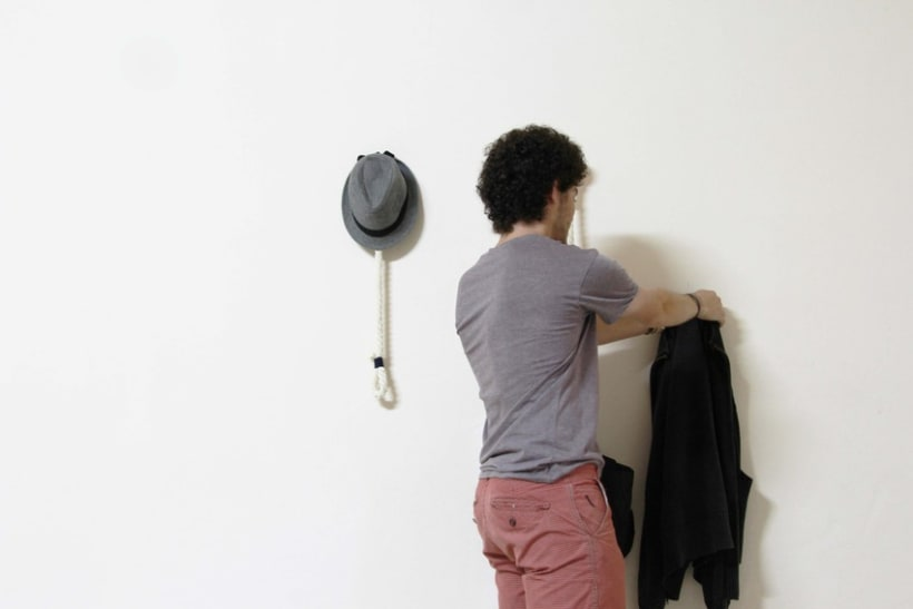 Hanger Rope - Perchero de pared 6