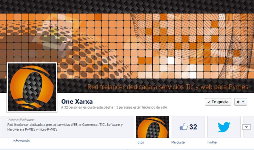One Xarxa - Diseño gráfico y web. 12