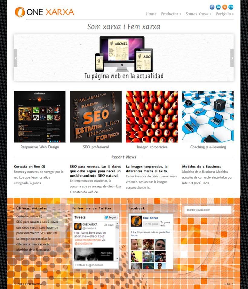 One Xarxa - Diseño gráfico y web. 10