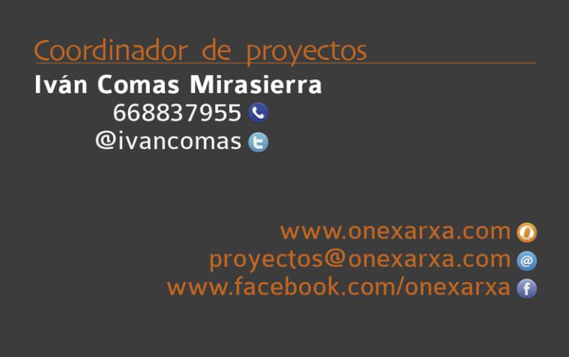 One Xarxa - Diseño gráfico y web. 4