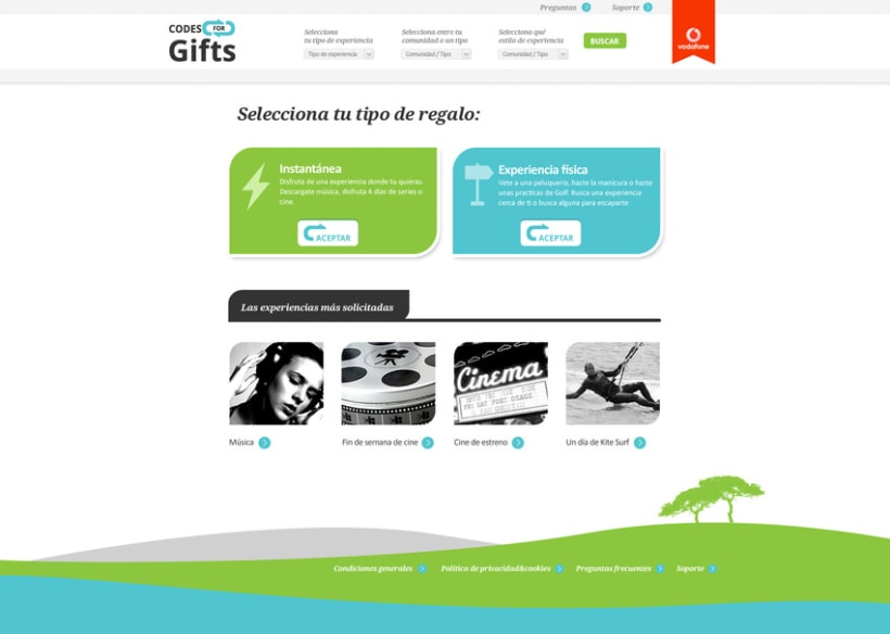 Codes for Gifts - Identidad y Web 4