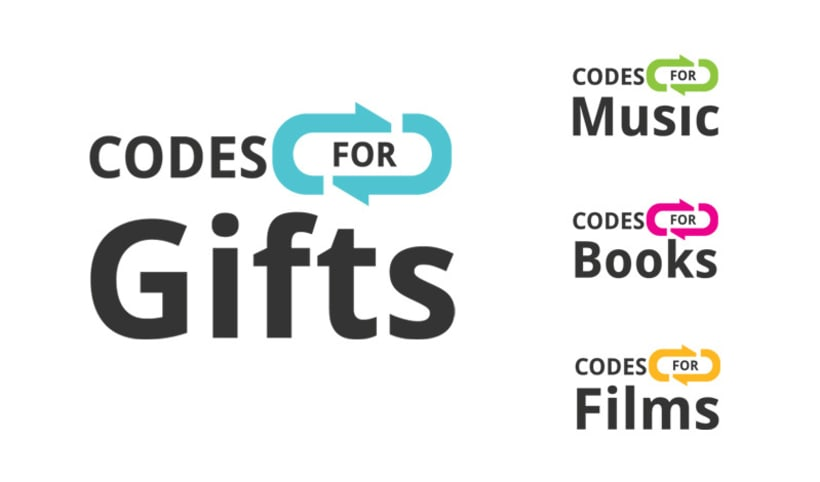 Codes for Gifts - Identidad y Web 2