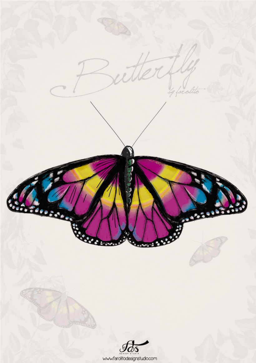Butterfly posters 4