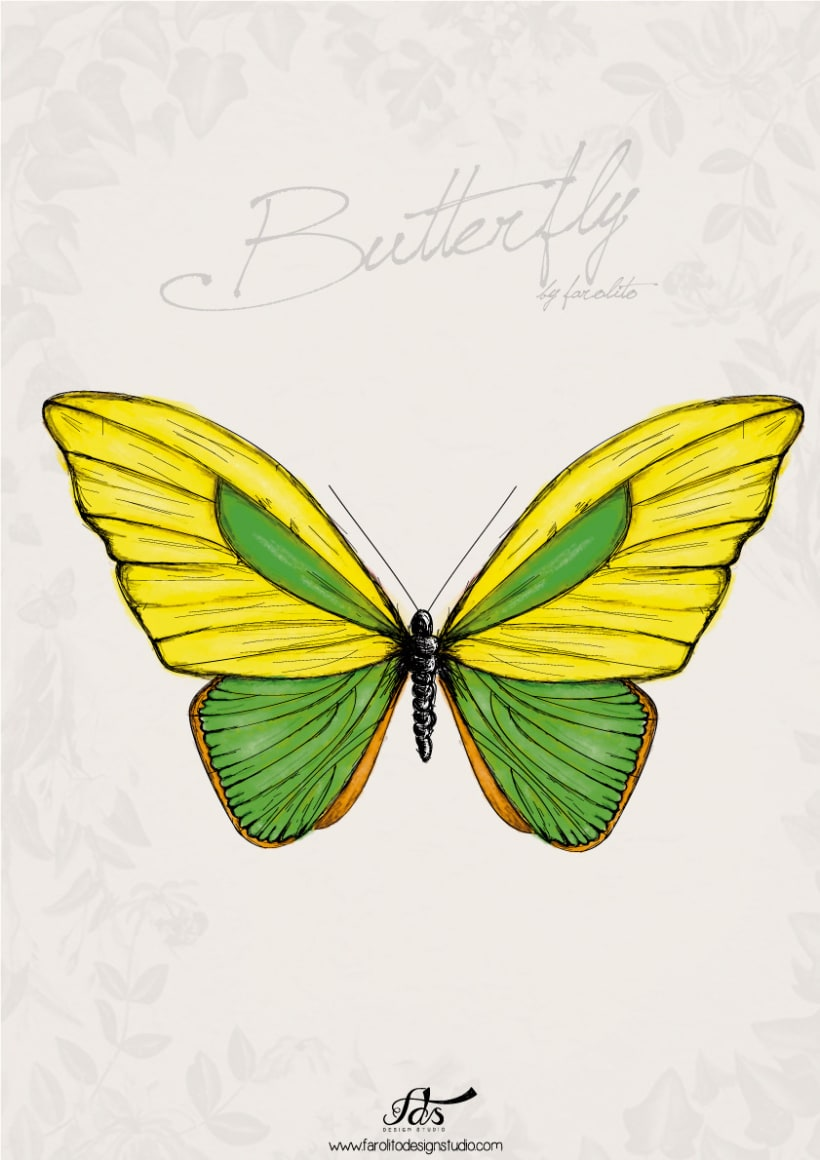 Butterfly posters 3