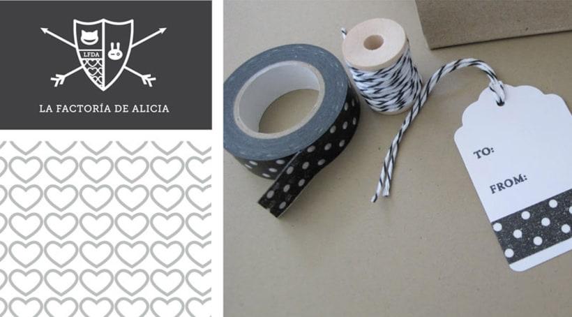 Diseño identidad corporativa/Web La Factoría de Alicia 3