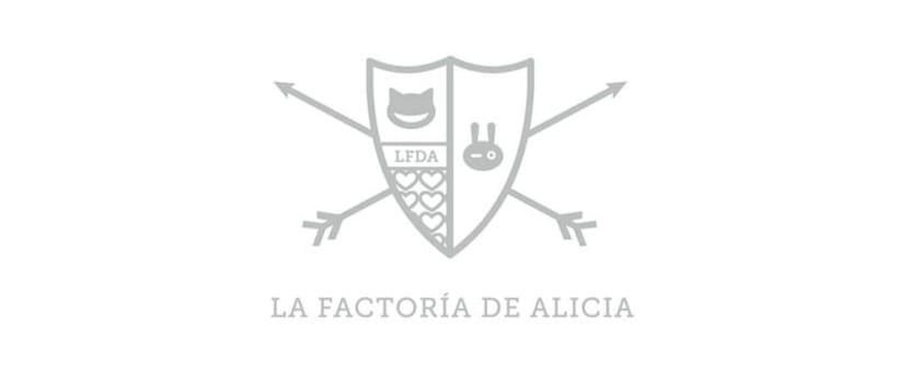 Diseño identidad corporativa/Web La Factoría de Alicia 2