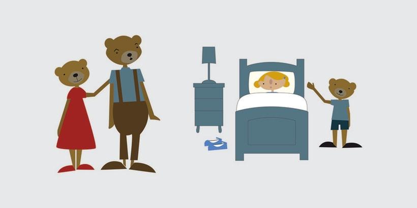 GOLDILOCKS & THE 3 BEARS 13
