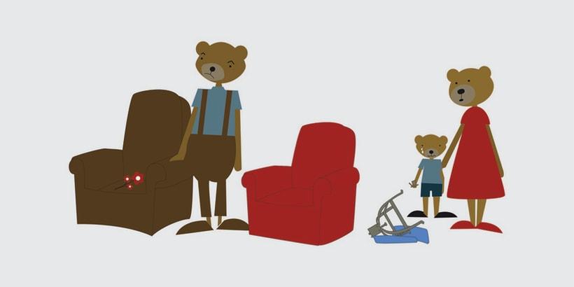 GOLDILOCKS & THE 3 BEARS 10