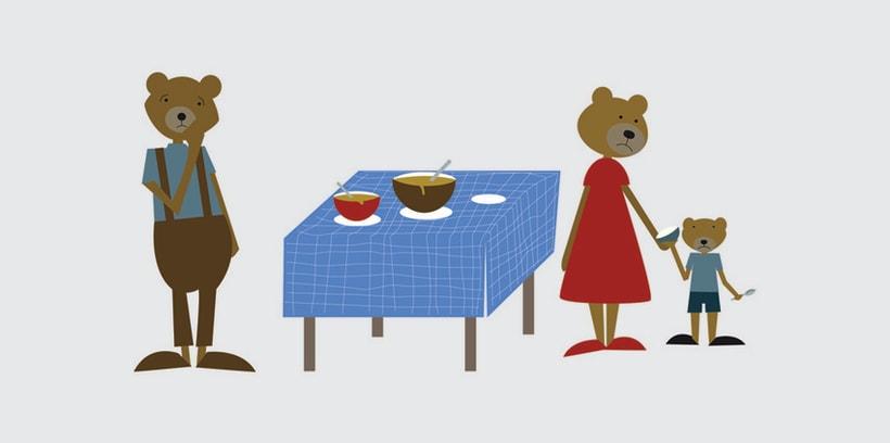 GOLDILOCKS & THE 3 BEARS 9