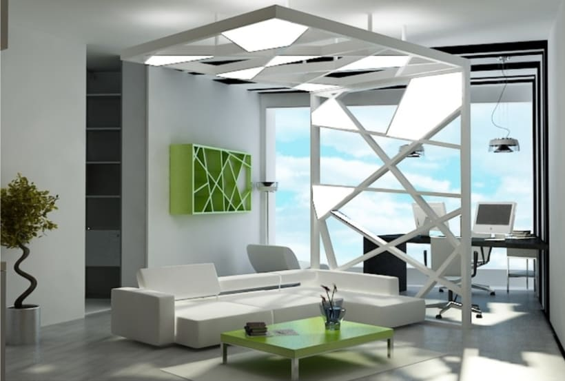 3D Max interior design Domestika