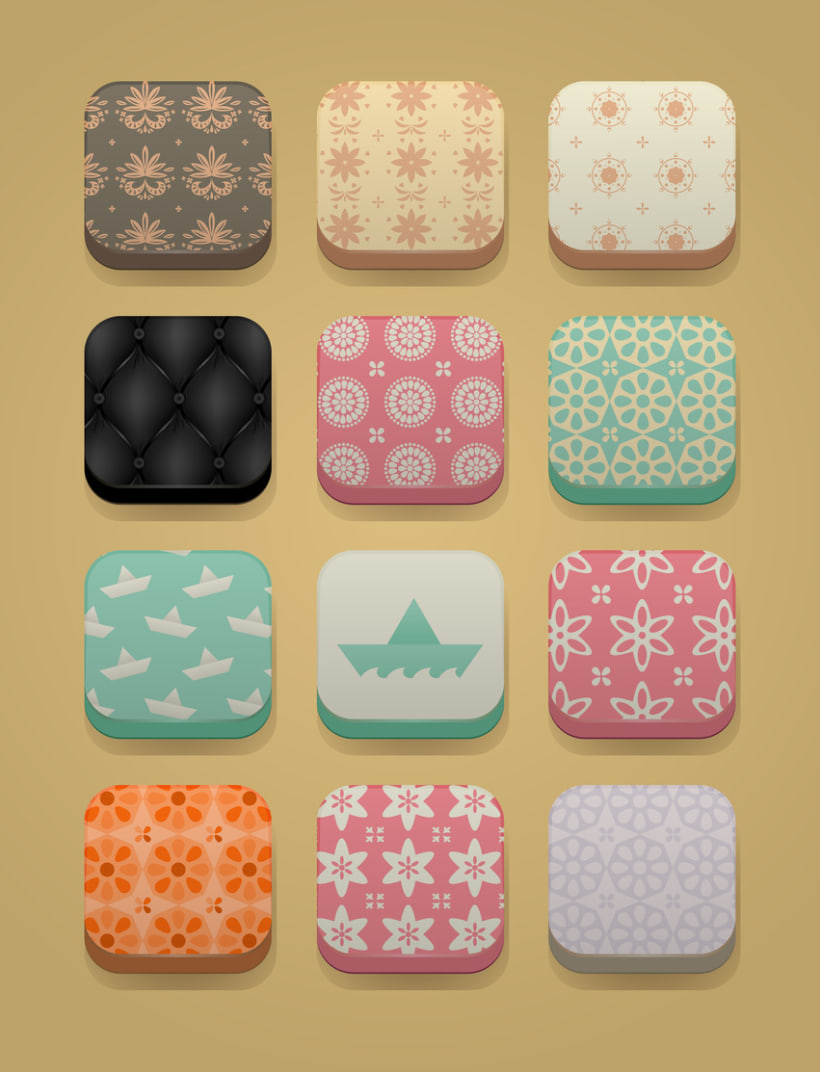 Botones e iconos 1