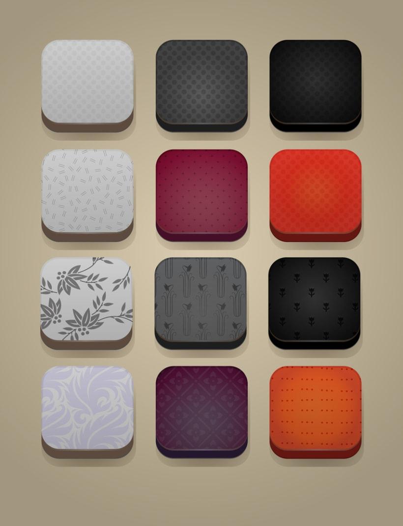 Botones e iconos 3