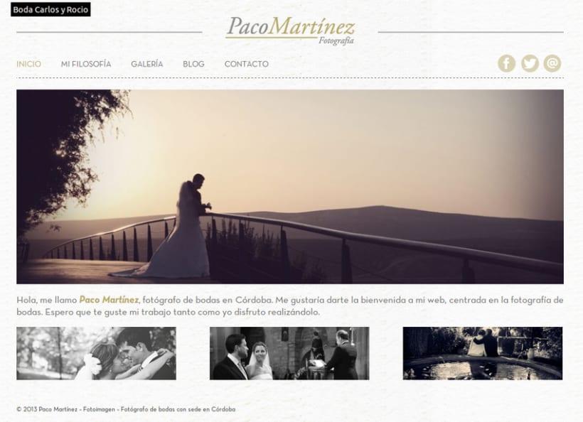Web Paco Martínez Fotografía 1