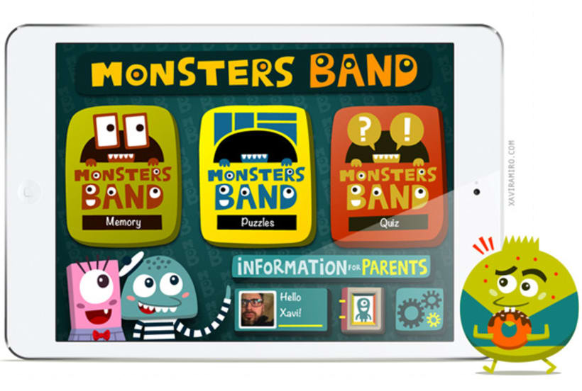 Monsters Bant (iOs) 3