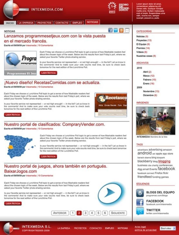 Webs Corporativas 13