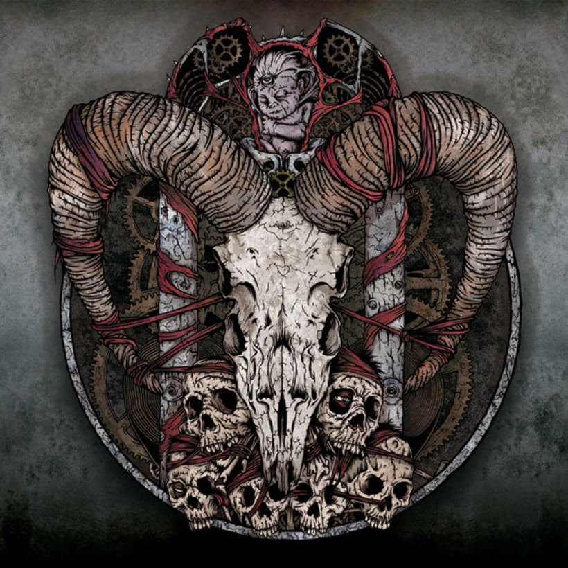 Clockwork EP - Ilustración de Portada 1