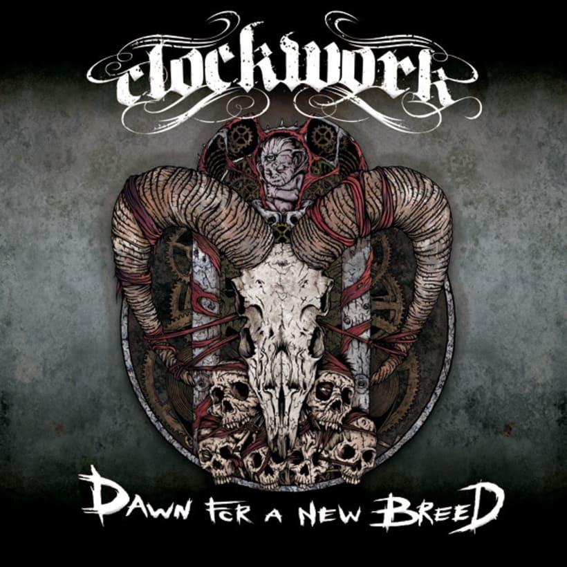 Clockwork EP - Ilustración de Portada 2