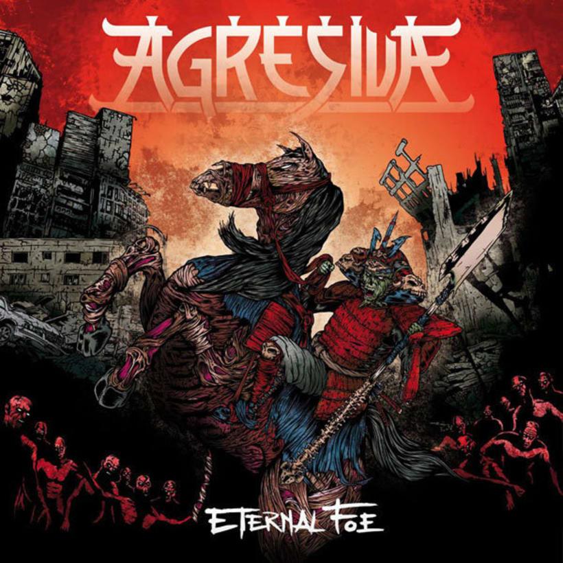 Agresiva: Eternal Foe  - Ilustración de portada 1