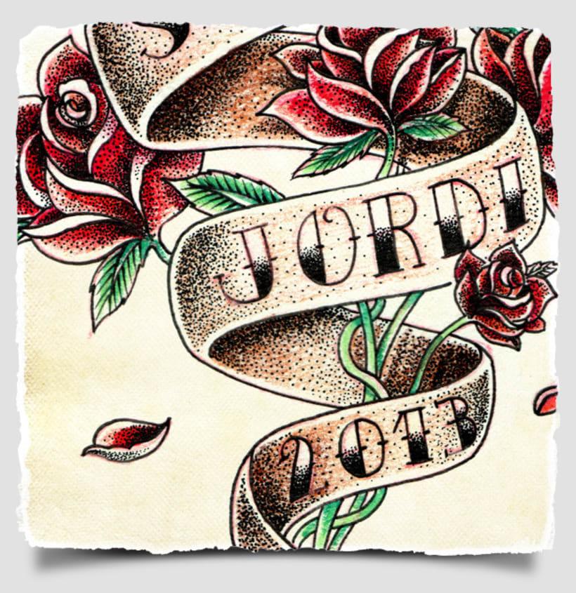 Sant Jordi · Tattoo 3